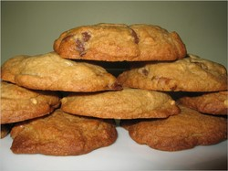 Recipe: Chunky Peanut, Chocolate, Cinnamon Cookies